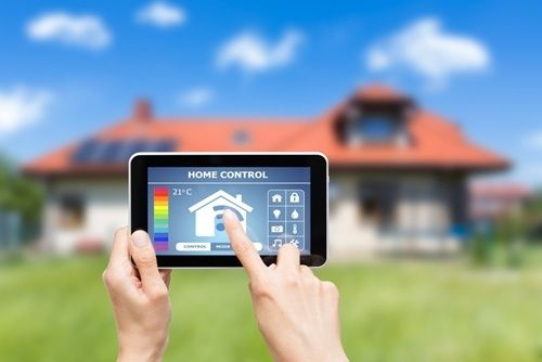 Mobile devices syncing with homes